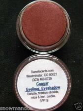 MINERAL MAKEUP~5g~SWEETSCENTS~EYESHADOW~BARE~LOOSE POWDER~DEEP RUSSET~COUGAR