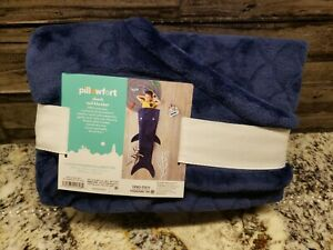 Shark Tail Blue Wearable Blanket - Pillowfort™NEW
