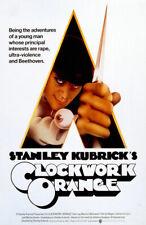 Clockwork Orange Replica 1971 Movie Poster