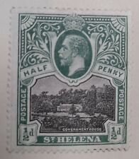 1912-16 St Helena 1/2d Green Stamp