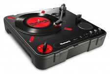 NUMARK PT01 SCRATCH - PORTABLE USB BELT DRIVE TURNTABLE - Authorized Dealer