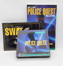 Police Quest Collection Series: SWAT and The Four Most Wanted Sierra PC Games