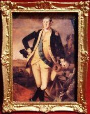 """Dollhouse Miniature """"General's Portrait """" Painting/Picture"""