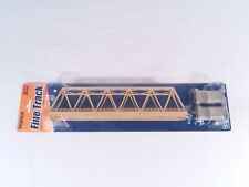 N Scale Tomix Single Track Bridge 3032 With Piers & Track Included
