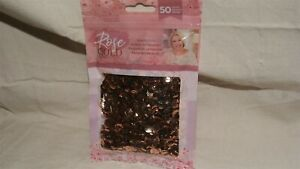 CRAFTER'S COMPANION - Rose Gold Collection - SEQUIN PACK - NEW!