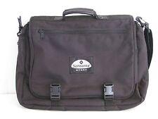 Samsonite Sport Messenger Shoulder Bag Laptop Carryon Overnight Suitcase Expands