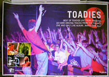Toadies rare retailer promo Poster 2002 Best Of Live From Paradise - 24x36inches