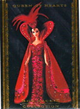 1996 THE WORLD OF BARBIE BOB MACKIE COLLECTION BMC3 SINGLE CARD QUEEN OF HEARTS