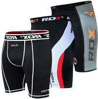 RDX Men's Boxing Base layer Compression Shorts Fitness Heat Gear Running MMA CS