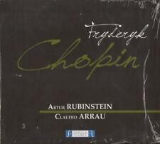 Chopin - Piano No.1 & 2 (CD) Rubinstein, Arrau NEW / SEALED