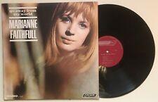 LP  MARIANNE FAITHFULL    GO AWAY FROM MY WORLD   1965