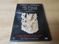 NEW FACTORY SEALED JOSEPH CAMPBELL AND THE POWER OF MYTH WITH BILL MOYERS DVD