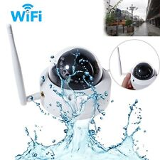 HD 720P Wireless WIFI IP Camera Home Security Night Vison Outdoor Vandal proof