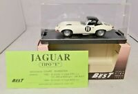 "BEST MODEL 1:43 - JAGUAR TIPO ""E"" SPYDER - TOURIST TROPHY 62 - #9035"