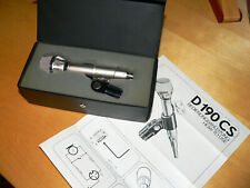 AKG D 190 S Microphone Tuchel connector Etat (Cond) Excellent + Case + Docs.