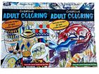 Creative Animal and Pottery Adult Coloring Book Designer Series Books Set of 2