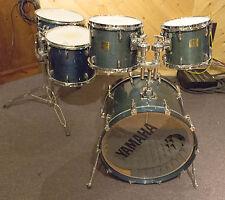 Yamaha Maple Custom Absolute 5 Piece Acoustic Drum Kit - Transparent Blue