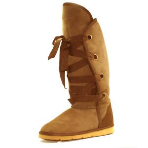 UGG Women's AU Sheepskin Water Resistant Adair Tall Boot - Chestnut