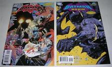 BATMAN AND ROBIN #s 20 & 21 (2011) Ethan Van Sciver & Tony Daniel VARIANTS (VF-)