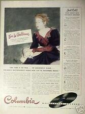 1941 Eva Le Gallienne Columbia Records Music Theatre Ad