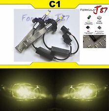 LED Kit C1 60W 9008 H13 3000K Yellow Two Bulbs Head Light Replacement Snowmobile