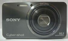 Sony Cyber-Shot DSC-W570 16.1 MP Digital Camera 5x Wide-Angle Optical Zoom Gray