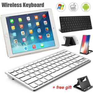 UK Bluetooth Keyboard+Stand For Samsung Galaxy Tab A T580 T510 S6 Lite P610 P615
