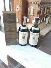 Whisky Ballantines 2 bottle 17 Anni 75 CL Anni 70 One Box Beautiful Condition