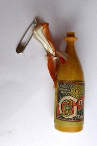 Anstecknadel Miniatur Flasche --Göppinger Tafelwasser--