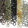 50-500 DIY Split Jump Rings Open Connector Jewelry Finding 4/5/6/8/10/12/14/20mm