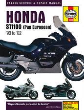Haynes Manual 3384 for Honda ST1100 Pan European V-Fours (90 - 02)