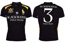 Ralph Lauren Polo Men's Big & Tall S/S Blackwatch Mesh Polo Shirt