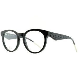 Dior VERYDIOR2O 807 Black Round Optical Frames Eyeglasses