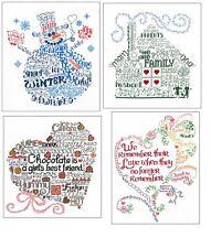 New Imaginating  Cross Stitch Chart. Let's series  URSULA MICHAEL, Choose