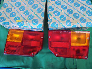 Fiat 128 CL Pair Lights Rear New