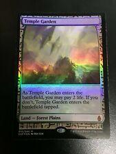 Temple Garden Expedition Foil - Zendikar Expeditions (Magic/mtg)