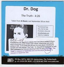 (FJ241) Dr Dog, The Truth - 2013 DJ CD