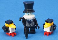 LEGO Super Heroes -  The Penguin mit Regenschirm und 2 x Pinguin  sh314 NEUWARE