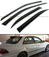 FOR 1998-2002 6TH HONDA ACCORD 4 DOOR SEDAN JDM SMOKE WINDOW VISOR RAIN GUARD