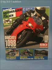 Mo Sonderheft Motorräder aus Italien Nr.10 u.a. Ducati 1098 Aprillia
