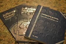 1938-2016 Complete Jefferson Nickel Collection NEW folders,BU 50d, 176 coins,pds