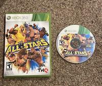 Xbox 360 - WWE All Stars - No Manual - Tested & Guaranteed