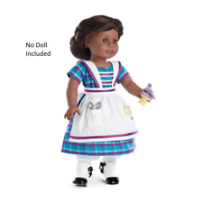 American Girl Doll Addy's Sewing Set Dress Outfit NEW!!