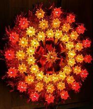 Markenlose weihnachtliche Fensterbeleuchtungs aus