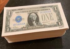 240 Pc Monopoly Size Money Set Realistic Single Sided Cotton Paper $1-$500+ $2!