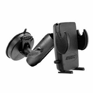 Arkon RM40802T Windshield Suction Phone Mount for iPhone 11 XR XS, Galaxy S10 S9
