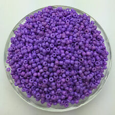 Wholesale 1000pcs 2mm Purple Czech Glass Seed Spacer beads Jewelry Fitting