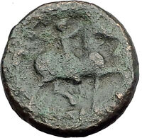 KASSANDER killer of Alexander the Great's FAMILY Ancient Greek Coin Horse i62812