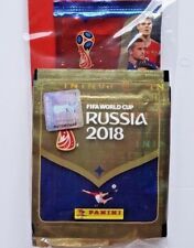 2018 FIFA World Cup Russia, 6 Trading Cards +50 Stickers Panini Value Pack