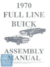 1970-70 Buick Skylark Assembly Manual - Each